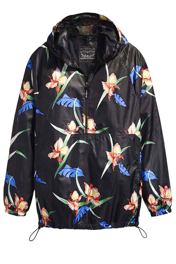 Levi's Graphic Anorak Black