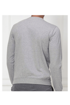 Armani EA7 Box Logo Sweatshirt Grey