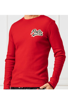 Ralph Lauren Logo Knit Jersey Red