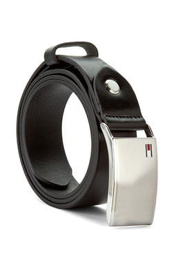 Tommy Hilfiger Plaque Belt 3.5 ADJ Black