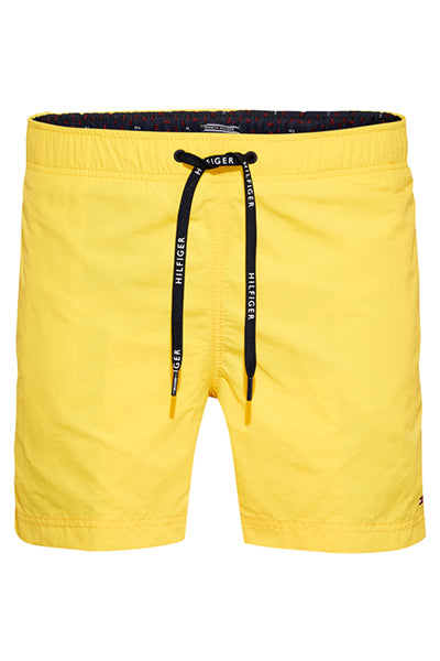 tommy hilfiger – Tommy hilfiger drawstring swimshorts yellow - s på luxivo.dk