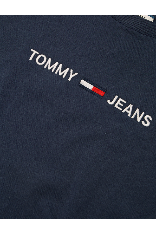Tommy Jeans Small Text Tee Navy