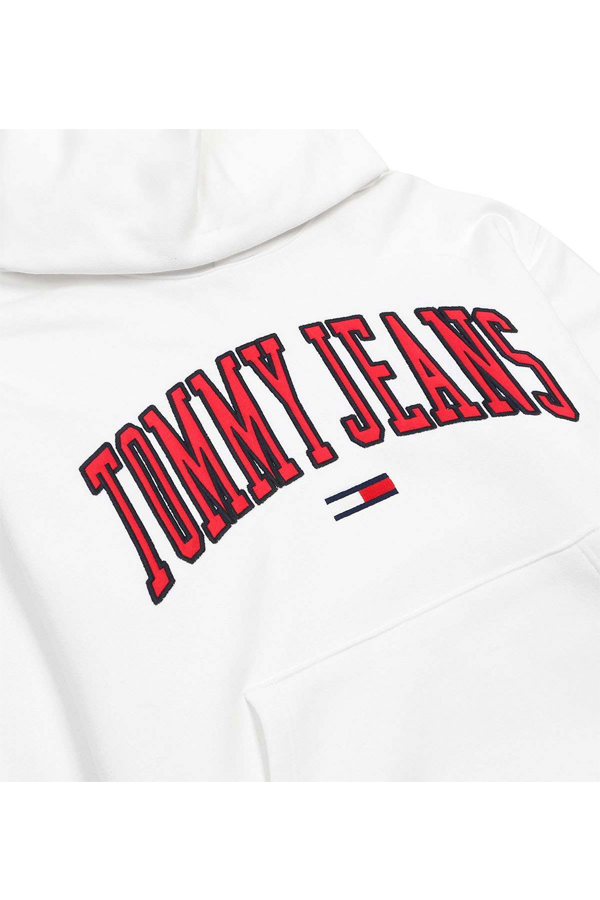 Tommy Jeans Classics Logo Hoodie White