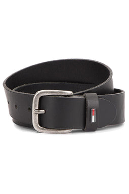 Tommy Hilfiger TJM Flag Loop Belt 4.0 Black