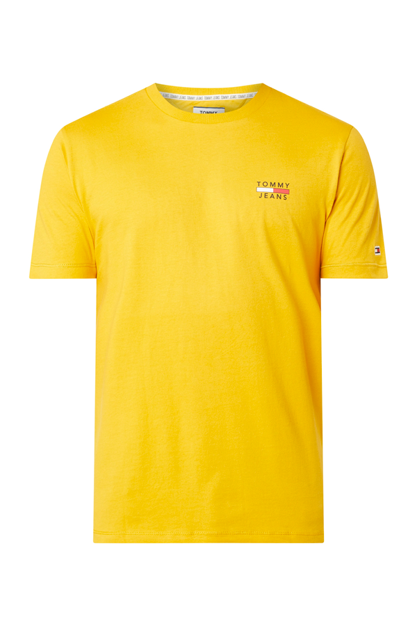 Tommy Jeans Chest Logo Tee Yellow