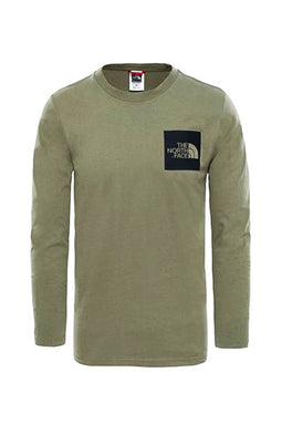 The North Face Longsleeve Fine Tee Deep Green