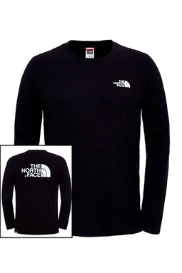 The North Face L/S Easy Tee Black