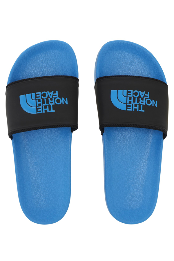 The North Face Logo Slides Blue