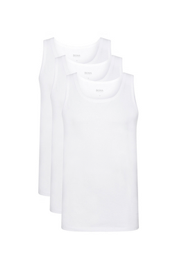 Hugo Boss Tank Top 3-Pack White