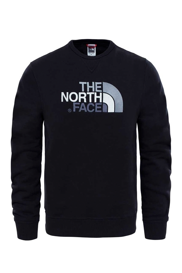 b8acf698371 The North Face Drew Peak Crew Sweatshirt Black