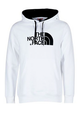 The North Face Drew Peak Hoodie White