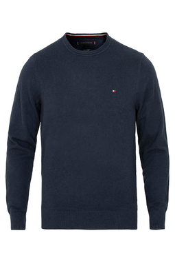 Tommy Hilfiger Cashmere Cotton Pullover Navy