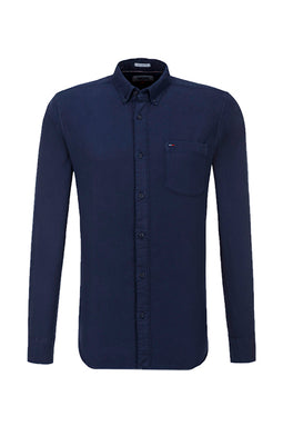 Hilfiger Denim Pocket Shirt Navy