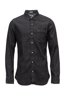 Tommy Jeans Denim Shirt Saunby Grey