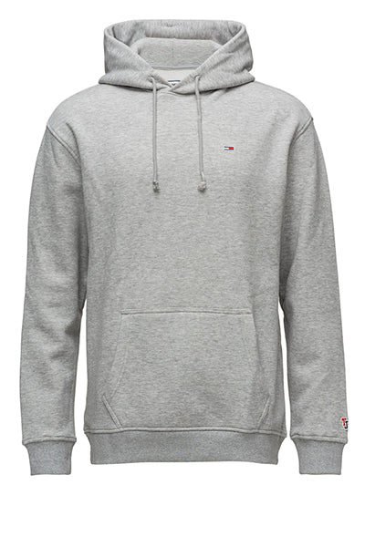 tommy hilfiger Tommy jeans classics hoodie grey heather - s på luxivo.dk