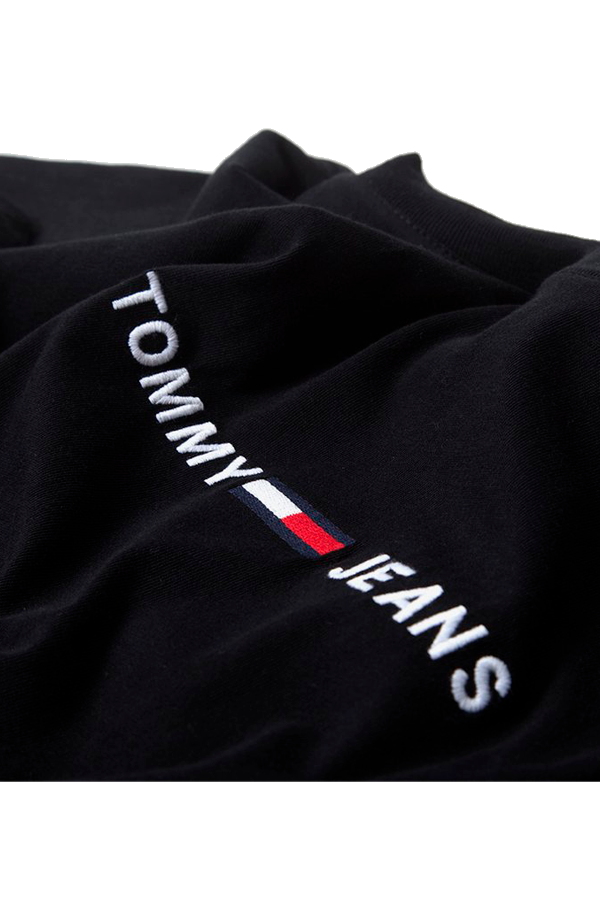 Tommy Jeans Small Text Tee Black