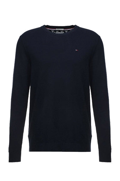 tommy hilfiger Tommy jeans essential pullover navy - m på luxivo.dk
