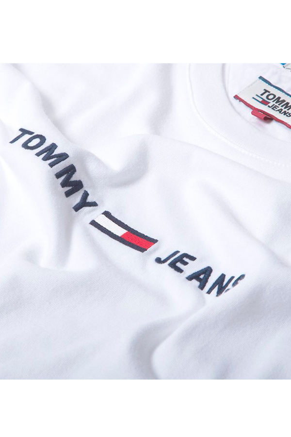 Tommy Jeans Small Text Tee White