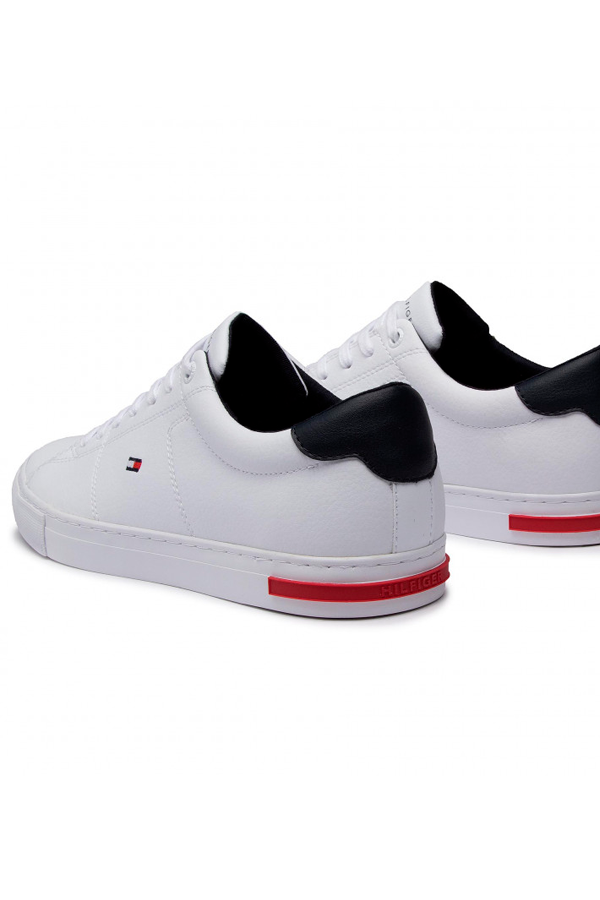 Tommy Hilfiger Essential Leather Sneaker White