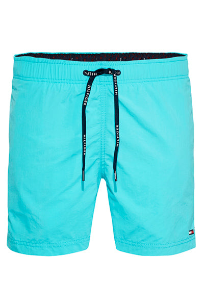 Tommy Hilfiger Drawstring Swimshorts BLUE CURACAO
