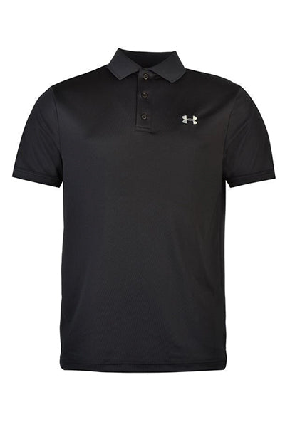 Under armour performance polo black - m fra under armour på luxivo.dk