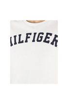 Tommy Hilfiger S/S Logo Tee White