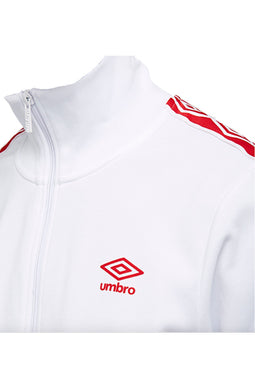 Umbro Retro Track Jacket White