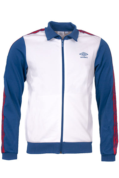 umbro – Umbro retro track jacket cream white - 3xl på luxivo.dk