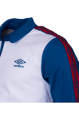 Umbro Retro Track Jacket Cream White