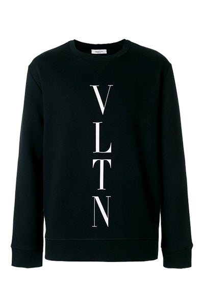 Image of   Valentino VLTN Logo Sweatshirt Black - XL