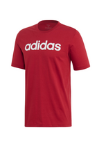 Adidas Linear Logo Tee Red