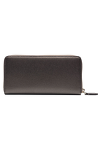 Armani Women ACCIAIO Zip Wallet Black