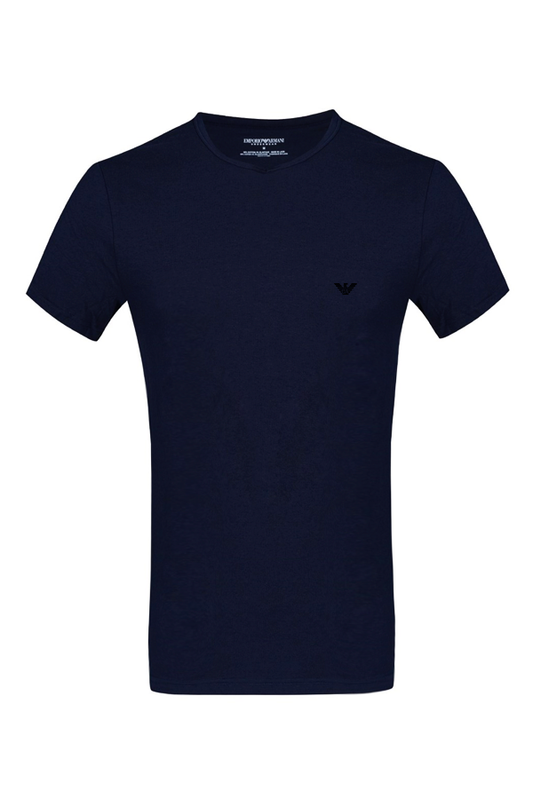 armani Armani cn s/s tee navy - m fra luxivo.dk