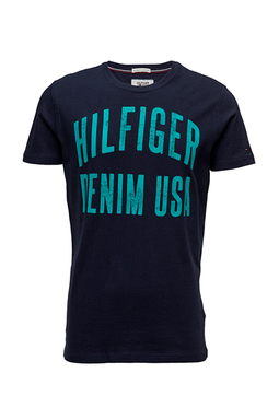 Hilfiger Denim Basic Tee Navy