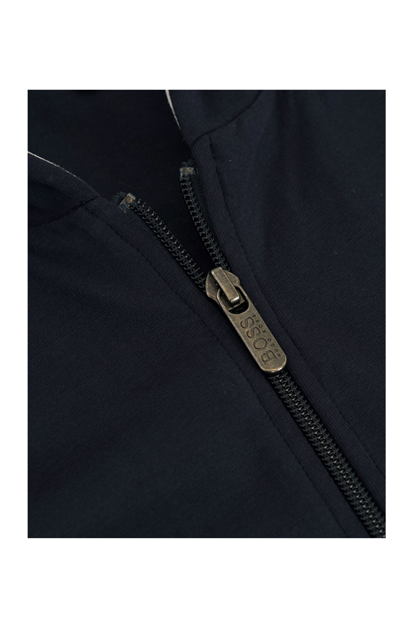 Hugo Boss Full Zip Hoodie Dark Blue