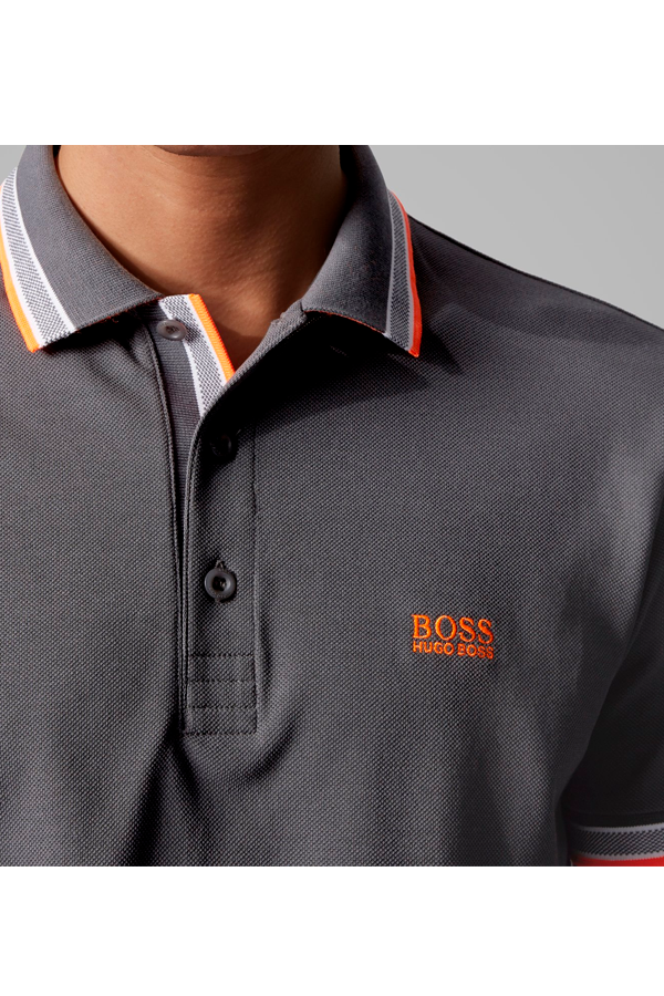 Hugo Boss Paddy Polo Dark Grey