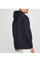 Calvin Klein Chest Box Logo Hoodie Night Sky