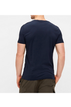 Calvin Klein Institutional Logo Slim Tee Navy
