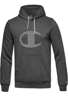 Champion Big Logo Hoodie Dark Grey
