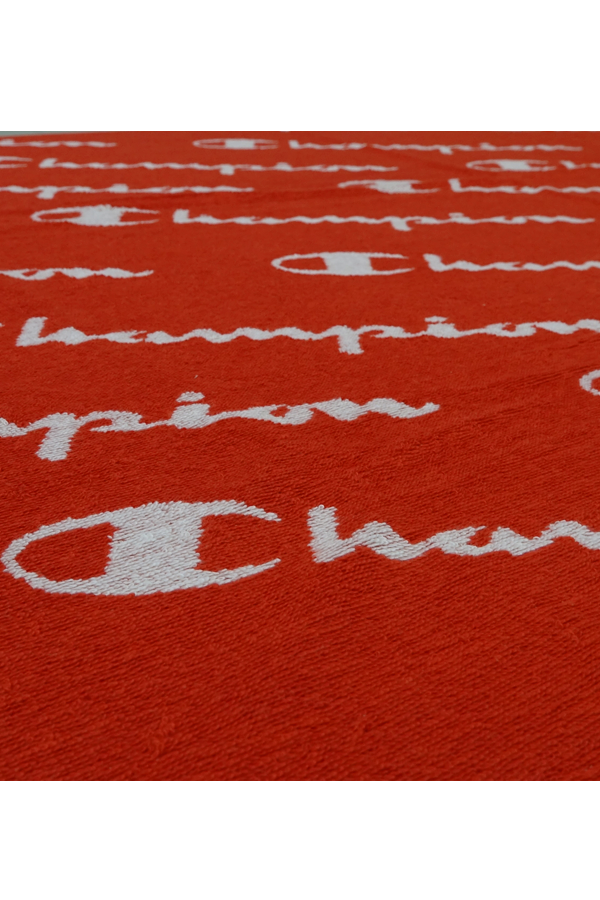 Champion Logo Beach Towel Red
