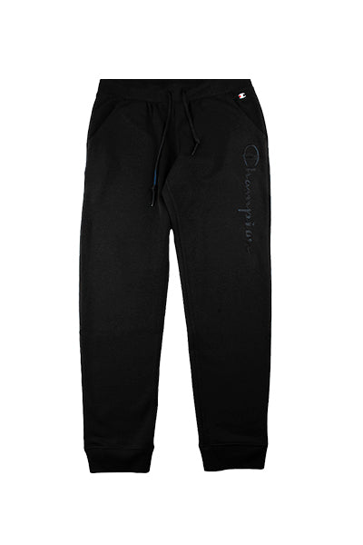 Champion Big Logo Pants Black