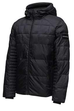 Calvin Klein Mix Media Hooded Jacket Black