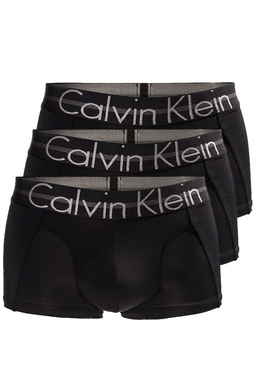 Calvin Klein Premium Trunks 3-Pack Black
