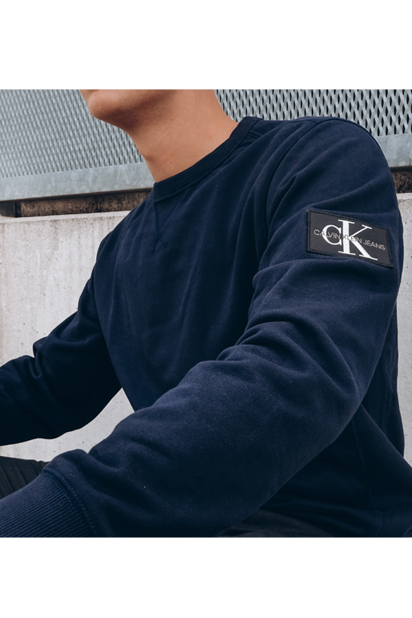 Calvin Klein Badge Sweat Navy