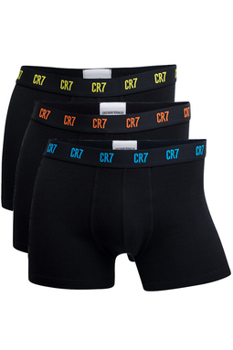 CR7 Trunks 3-Pack Black Color