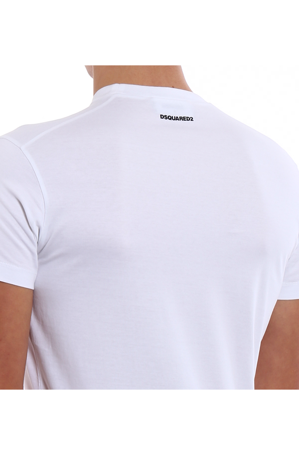 Dsquared2 Color Print Tee White