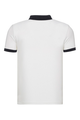 Armani EA7 Shield Polo Shirt White