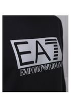 Armani EA7 Box Logo Sweatshirt Black
