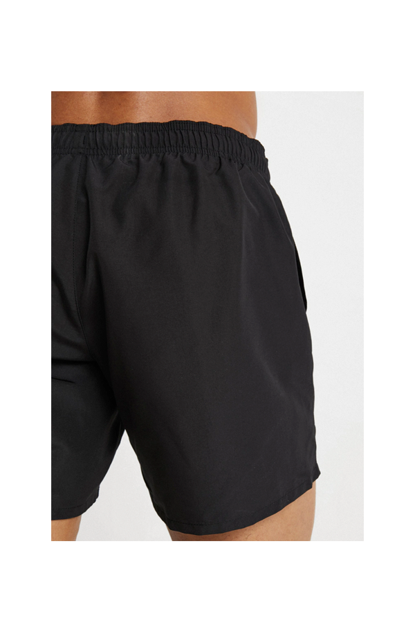 Armani EA7 Logo Swim Shorts Black