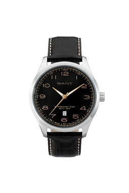 GANT Montauk Watch Black Leather